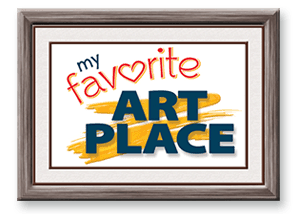 My Favorite Art Place Retina Logo